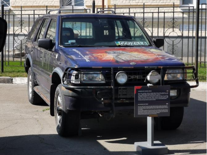 В Киеве появились интересные автомобили из зоны АТО  3
