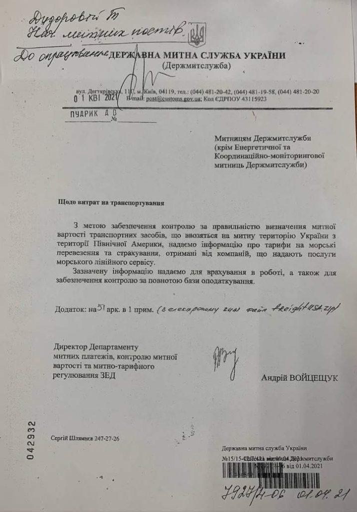 В Украине изменили процедуру растаможки автомобилей из США: цена существенно выросла 1