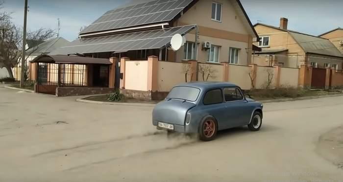Украинский электрический«Запорожец» бросил вызовTesla 2
