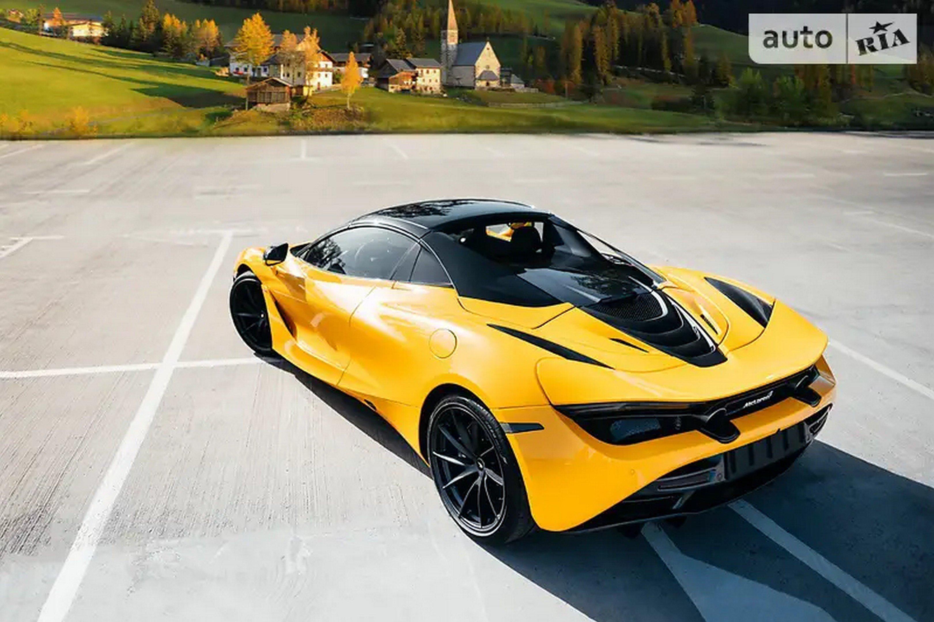 В Украине выставили на продажу McLaren 720S 2020 года за 370тыс. долларов 2