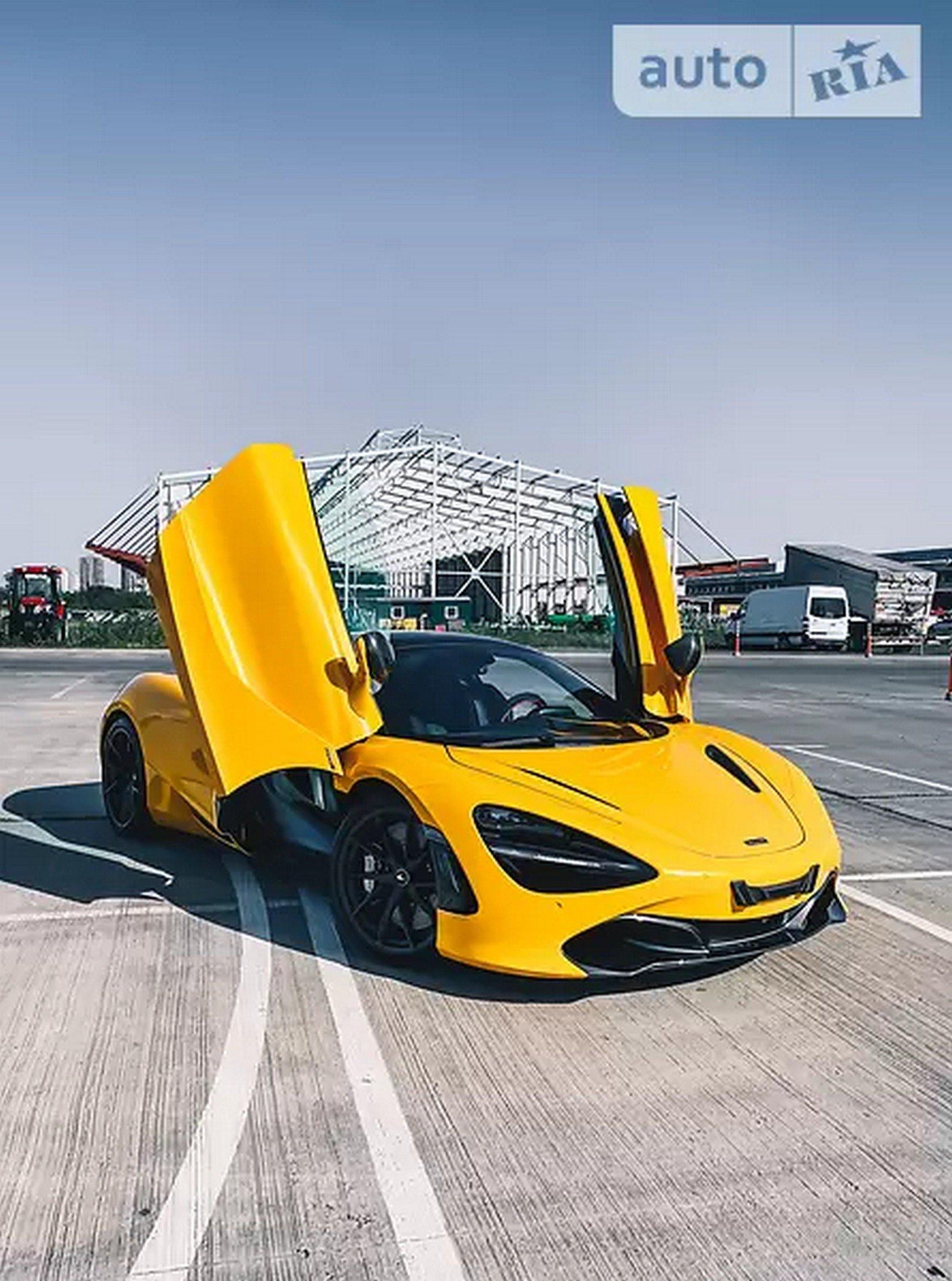 В Украине выставили на продажу McLaren 720S 2020 года за 370тыс. долларов 1
