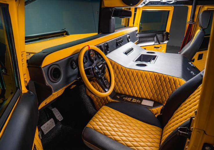 Представлен Hummer M1-R с двигателем мощностью 800 лошадиных сил 3