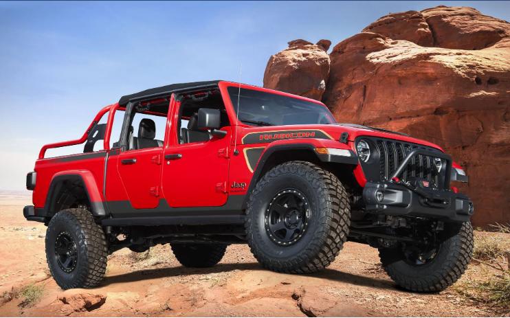 Jeep показал четыре новинки:концепты презентуют на ежегодном Easter Jeep Safari 3