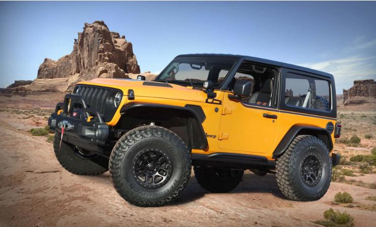 Jeep показал четыре новинки:концепты презентуют на ежегодном Easter Jeep Safari 4