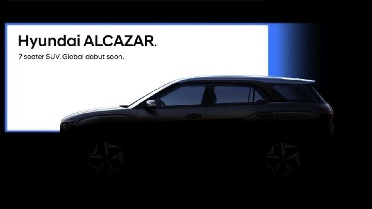 Hyundai показал новый семиместный кроссовер Alcazar на фото 3
