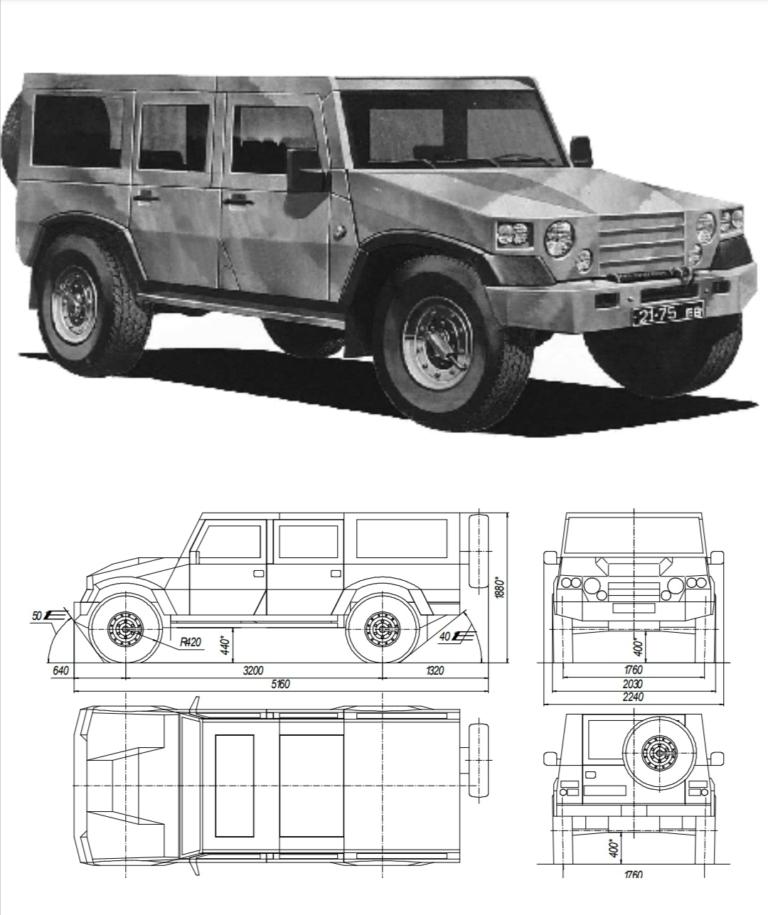 Замена давно устаревшим УАЗикам: каким будет украинский армейский автомобиль 1