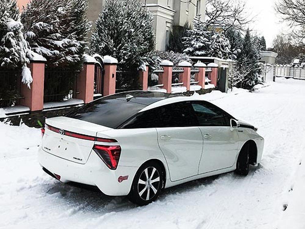 В Украине появился первый водородный автомобиль 2