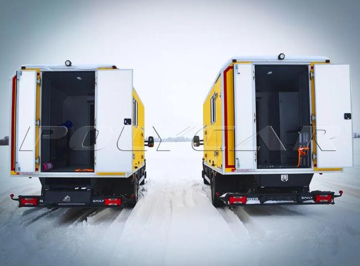Украинская компания создала спецавтомобили на базе Iveco 3