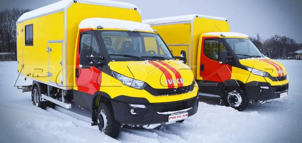 Украинская компания создала спецавтомобили на базе Iveco 1