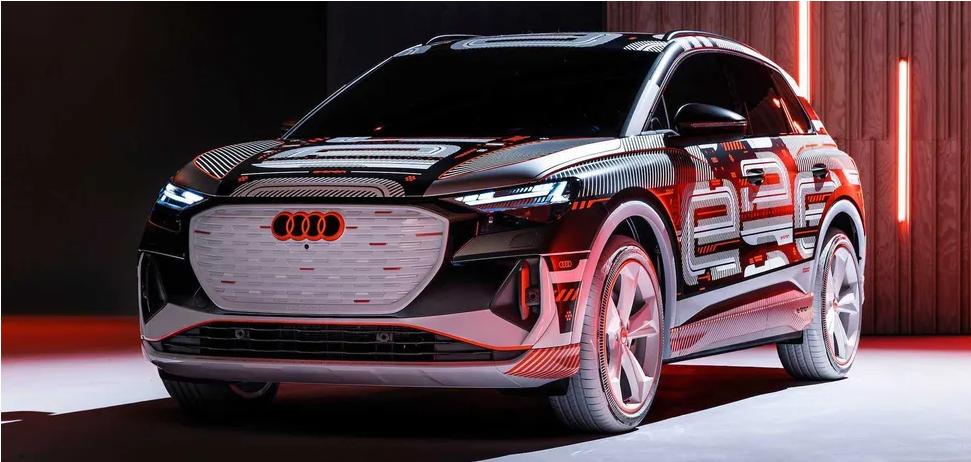 Audi опубликовала фотографии и раскрыла детали нового кроссовера Q4 e-tron 1