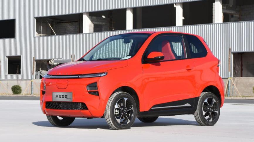 В Китае презентовали бюджетный и стильный электромобиль 1