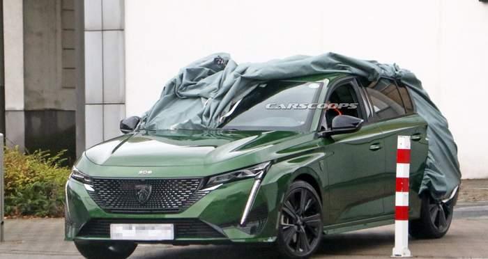 Фотошпионы поймали в объектив новый Peugeot 308 2