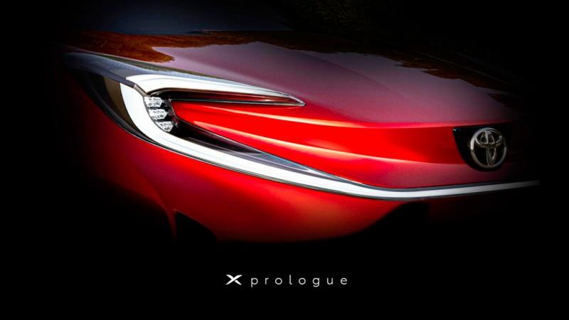 Toyota опубликовала тизер новой модели X Prologue 1