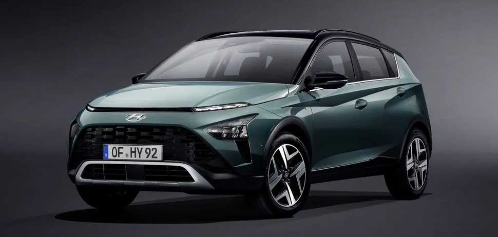 Hyundai презентовал новый кроссовер Bayon 1