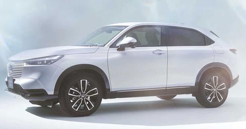 Honda презентовала новое поколение кроссовера HR-V 1