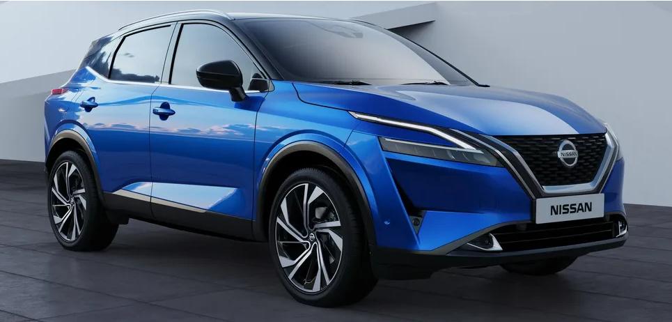 Японская компания Nissanпрезентовал новое поколение популярного кроссовера Qashqai 1