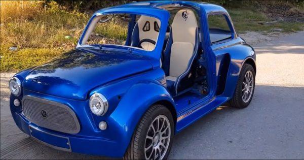 Умелец создал уникальное авто из «Запорожца»  1