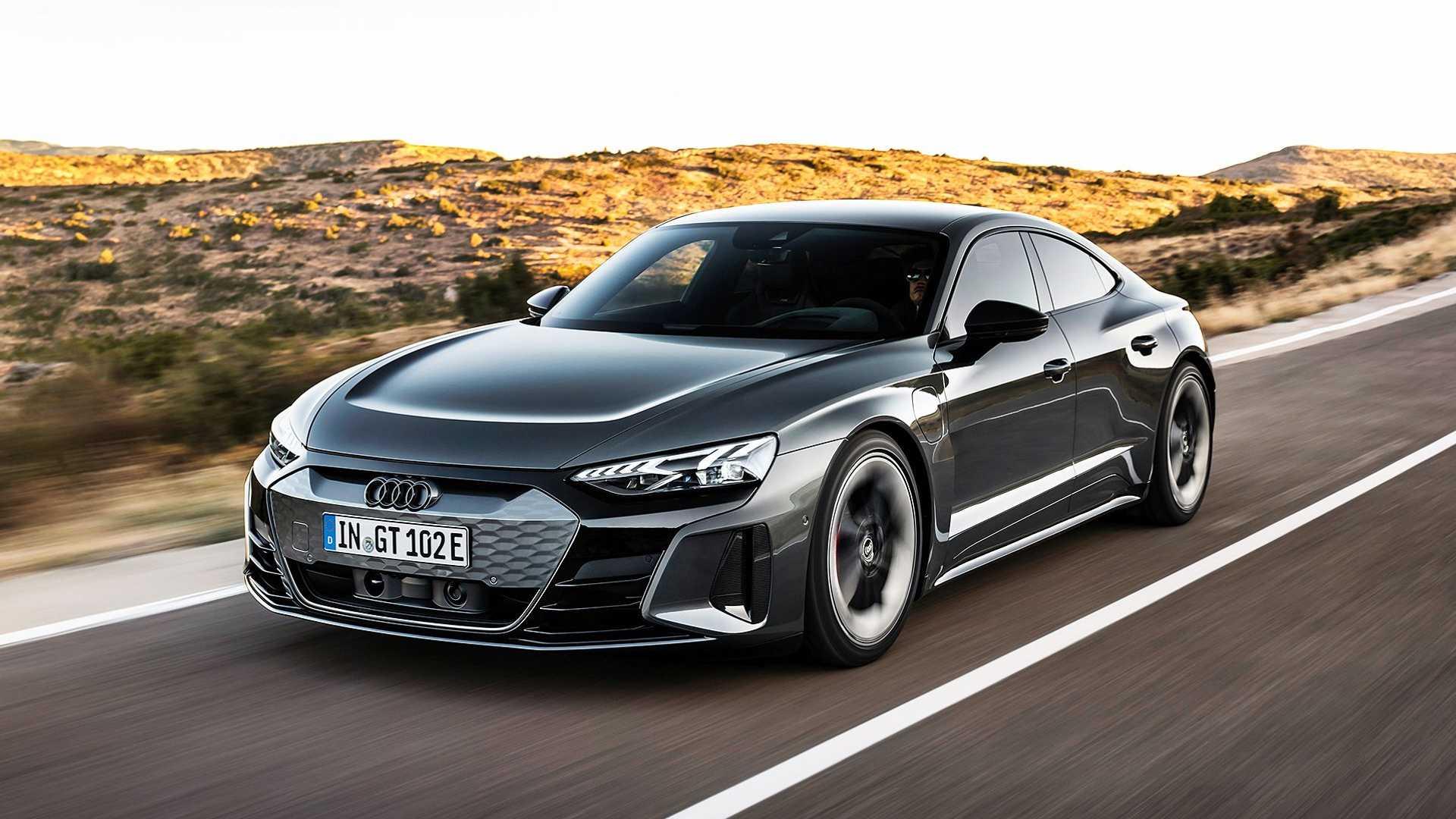 Новейший электромобиль Audi RS E-Tron GT разогнали до максимальной скорости 1