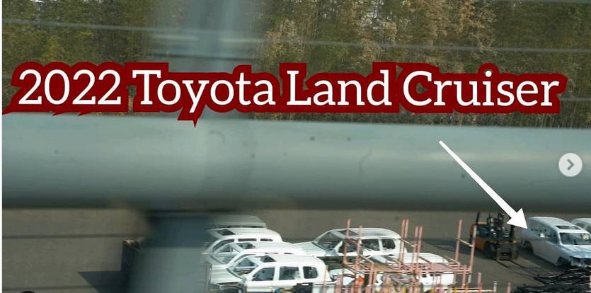 Новый Toyota Land Cruiser 300 впервые показался на фото без камуфляжа 3