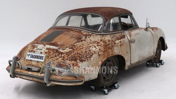 Ржавый Porsche 456A Cabriolet продали за 200000 долларов 3