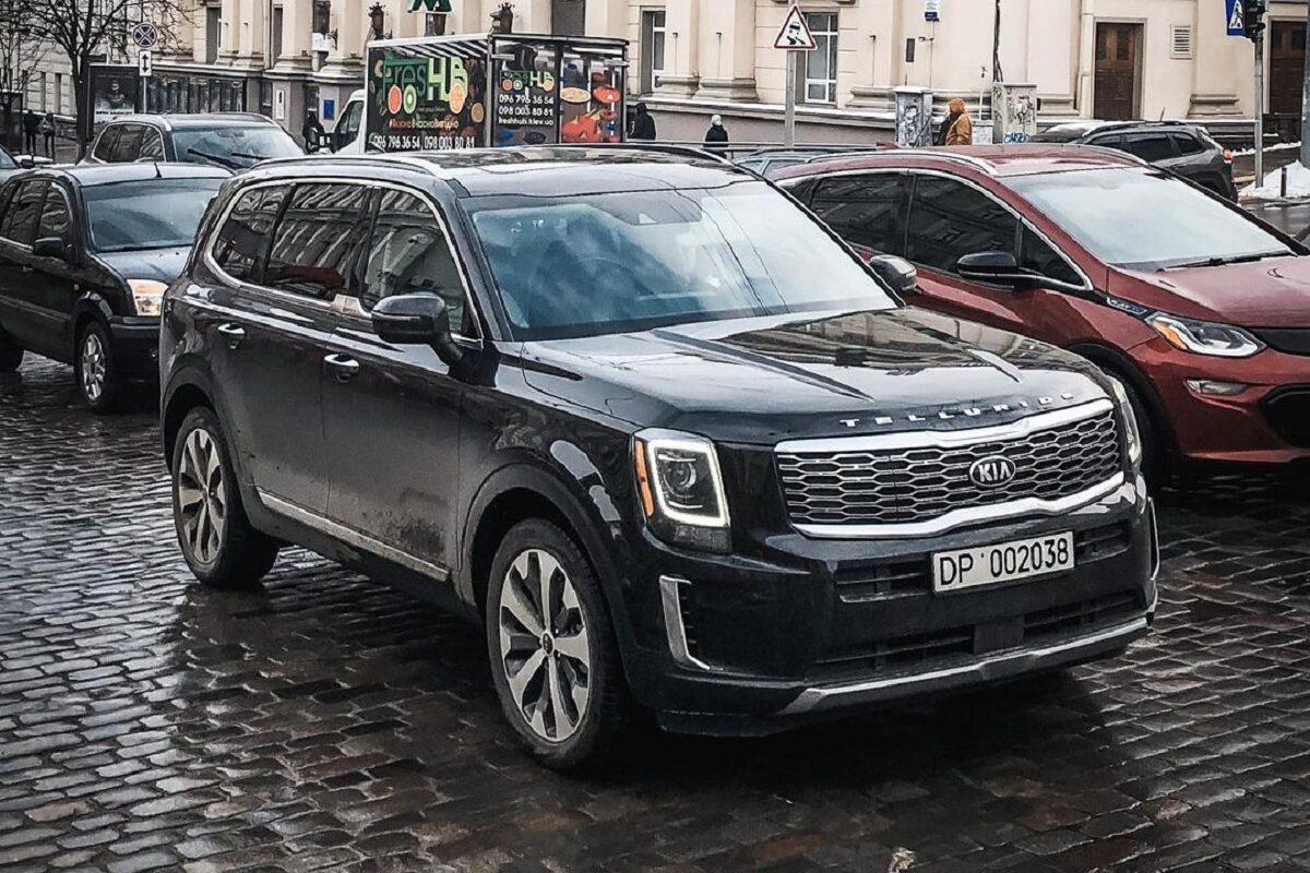 В Киеве заметили лучший в мире автомобиль 1