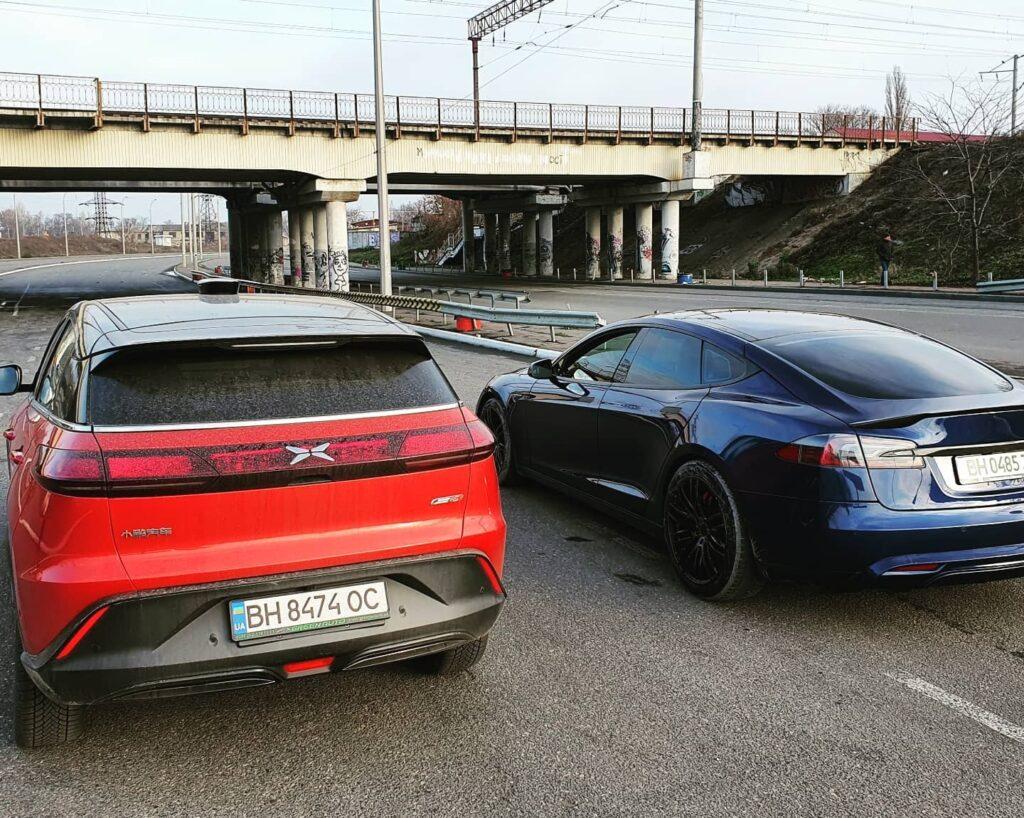 В Украину привезли китайскую бюджетную альтернативу Tesla Model Y 1