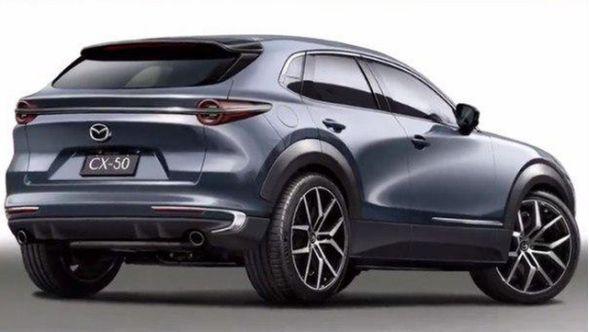 Появились первые изображения нового кроссовера Mazda CX-50 2