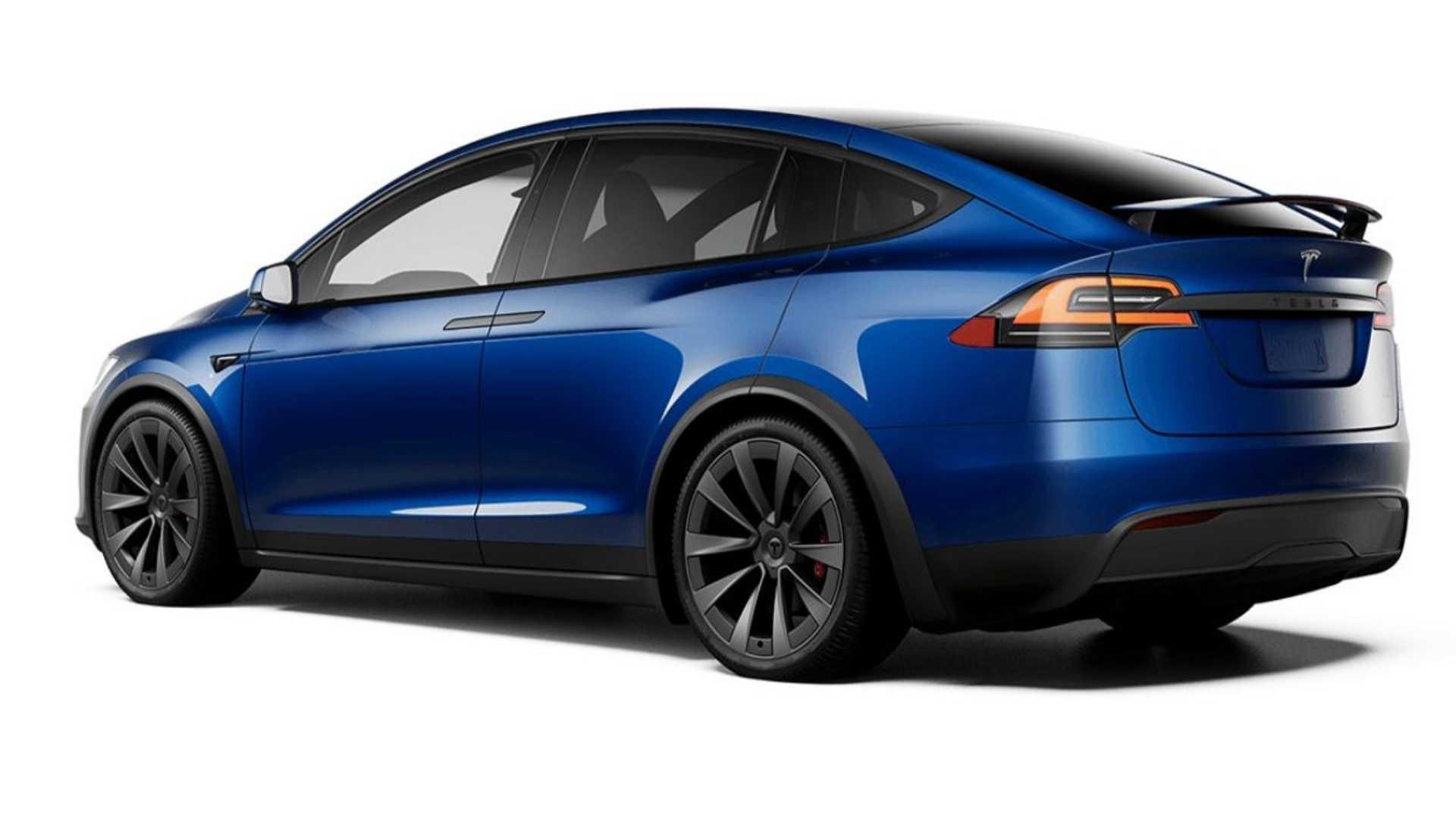 Электрический кроссовер Tesla Model X получил обновления (фото) 3