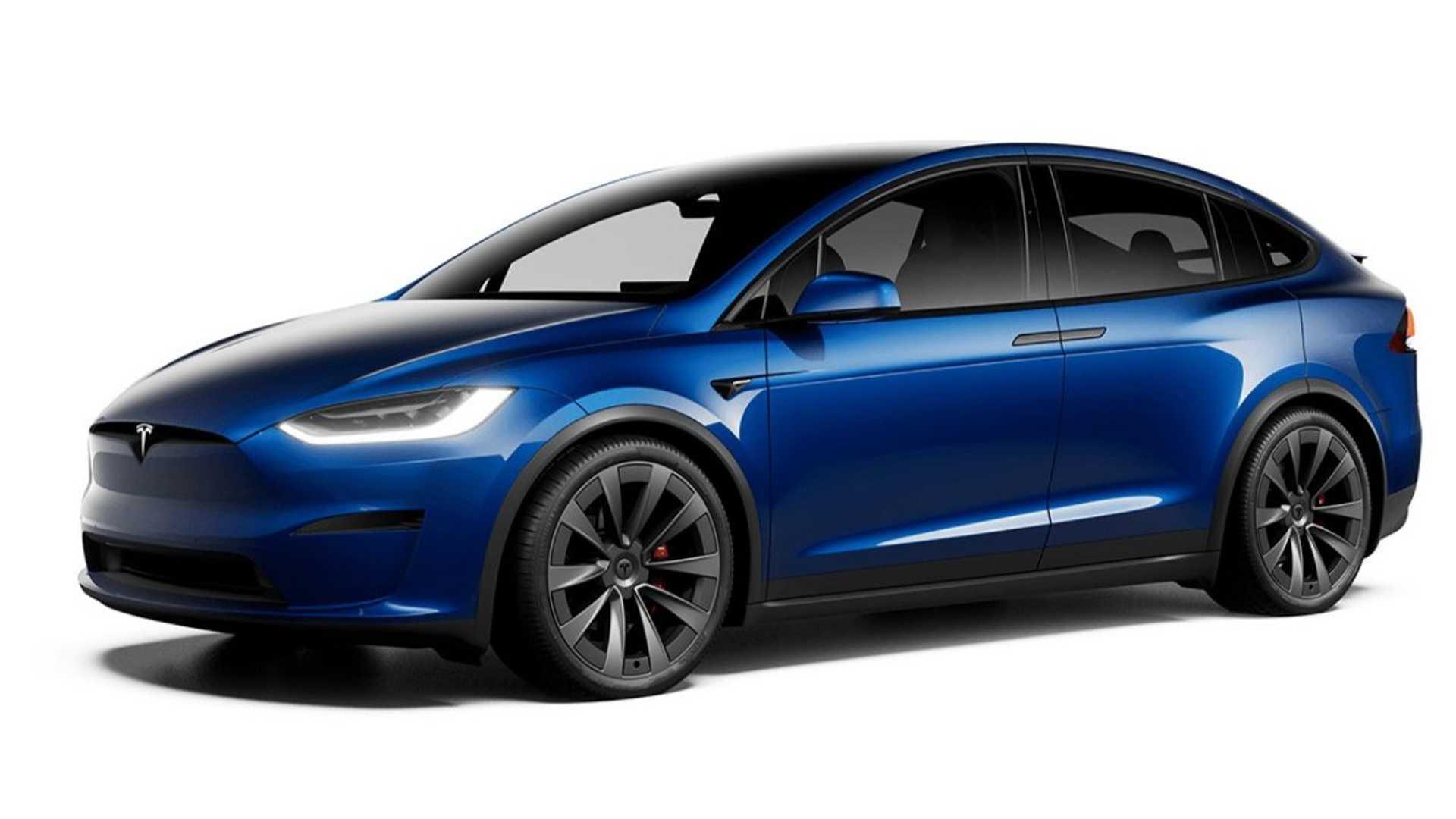 Электрический кроссовер Tesla Model X получил обновления (фото) 1