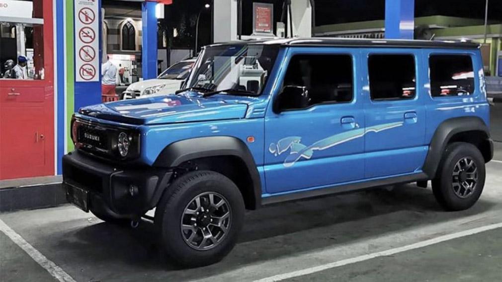 Пятидверный вариант внедорожника Suzuki Jimny готовится к презентации: подробности и фото 1