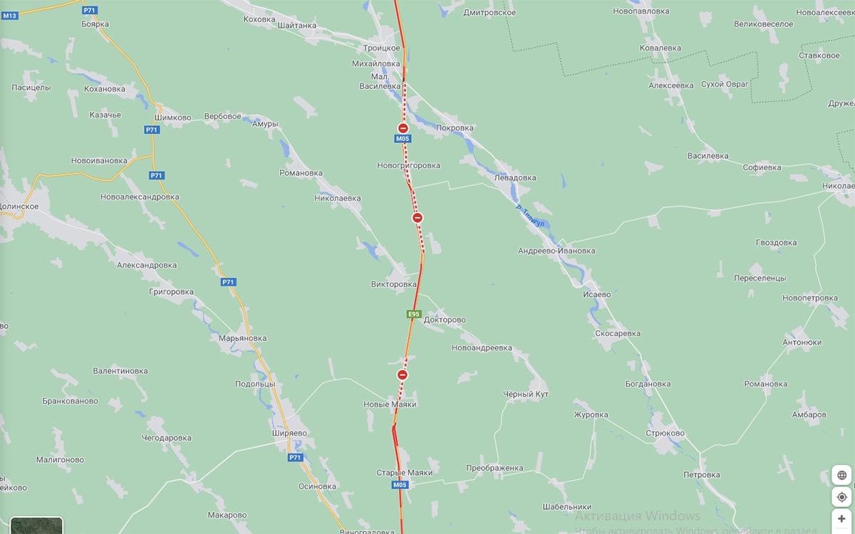 Трассу Киев-Одесса перекрыли для грузового и легкового транспорта (видео) 1