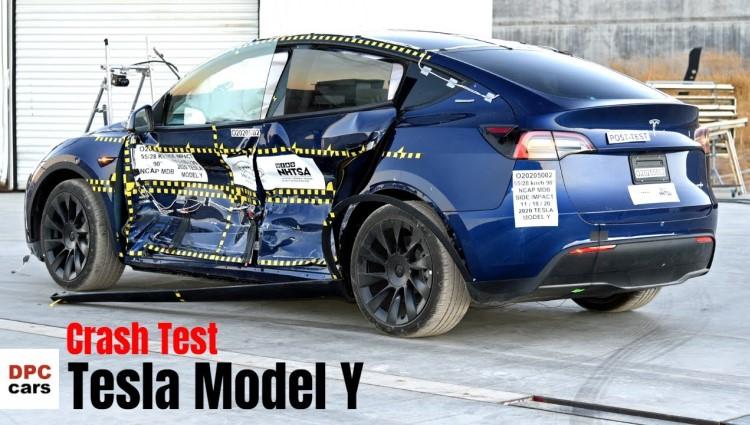 Tesla Model Y получила высокие оценки за безопасность 1