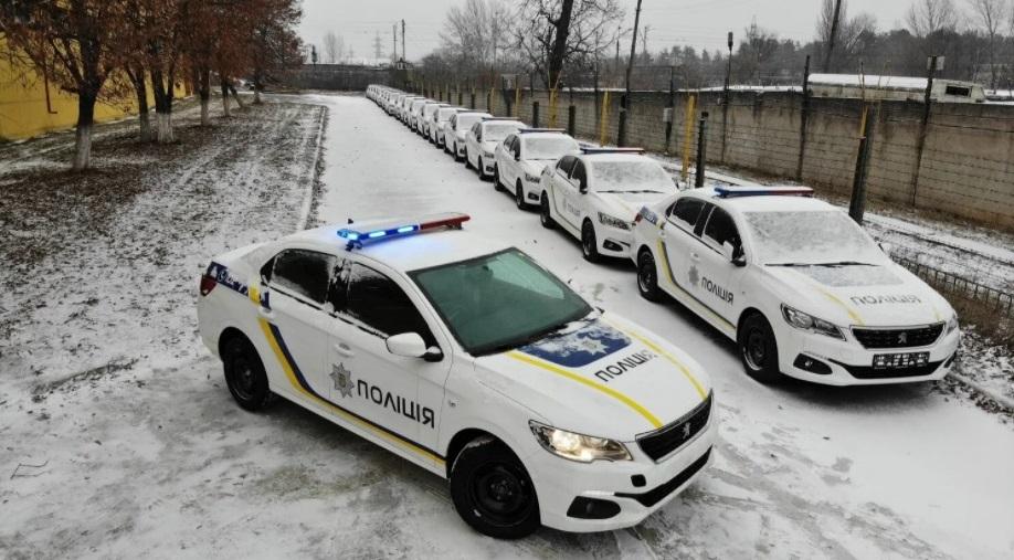Полиция Украины «пересядет» на Peugeot 1