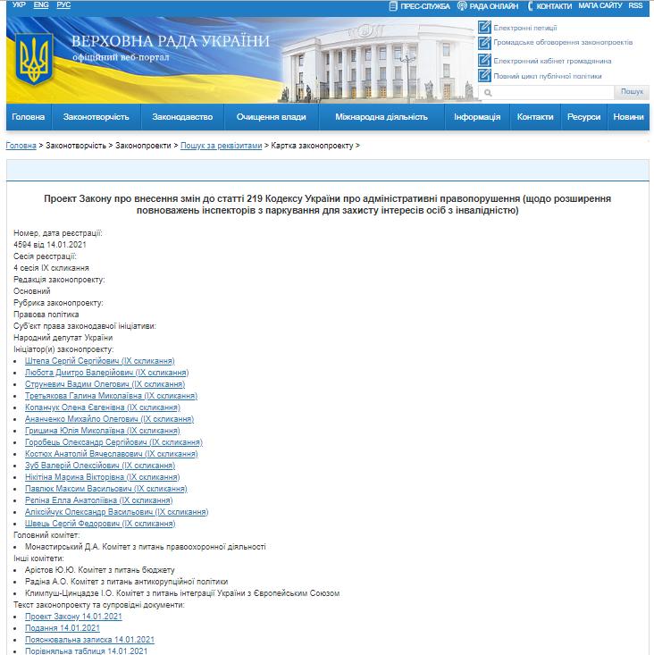 В Украине будут по-новому наказывать за парковку на местах для инвалидов 1