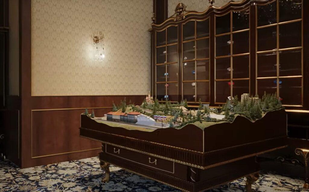 Комната с игрушечными машинками во дворце Путина (фото) 1