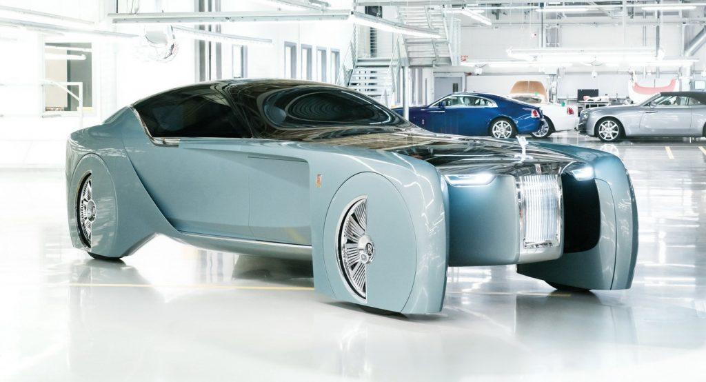 Компания Rolls-Royce готовит первый серийный электромобиль 1