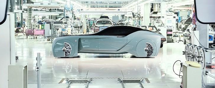 Компания Rolls-Royce готовит первый серийный электромобиль 2
