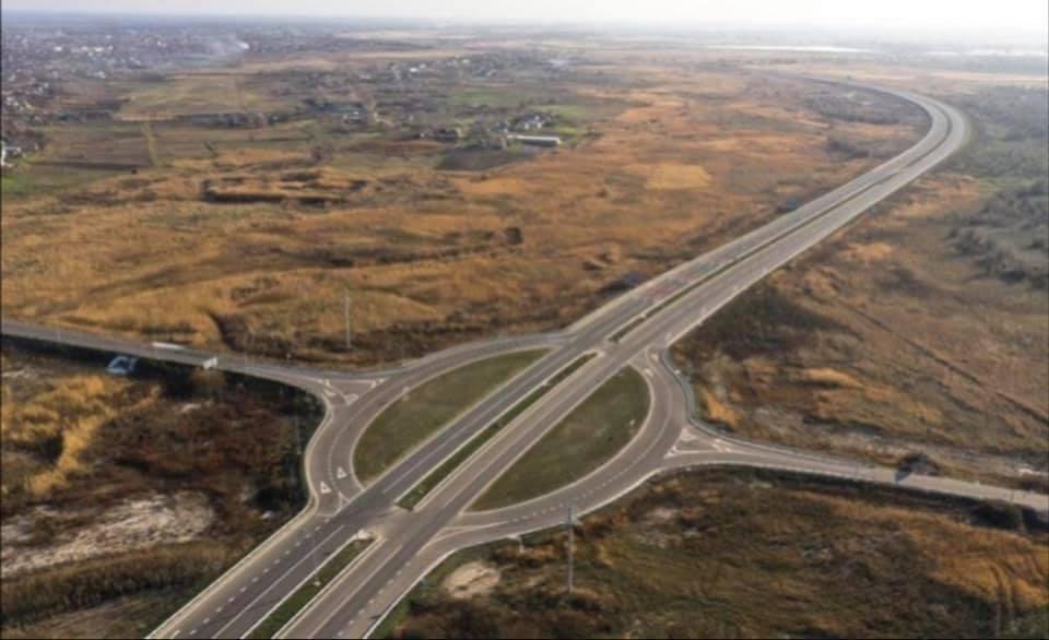 Самая опасная автомобильная развязка в Украине (видео)