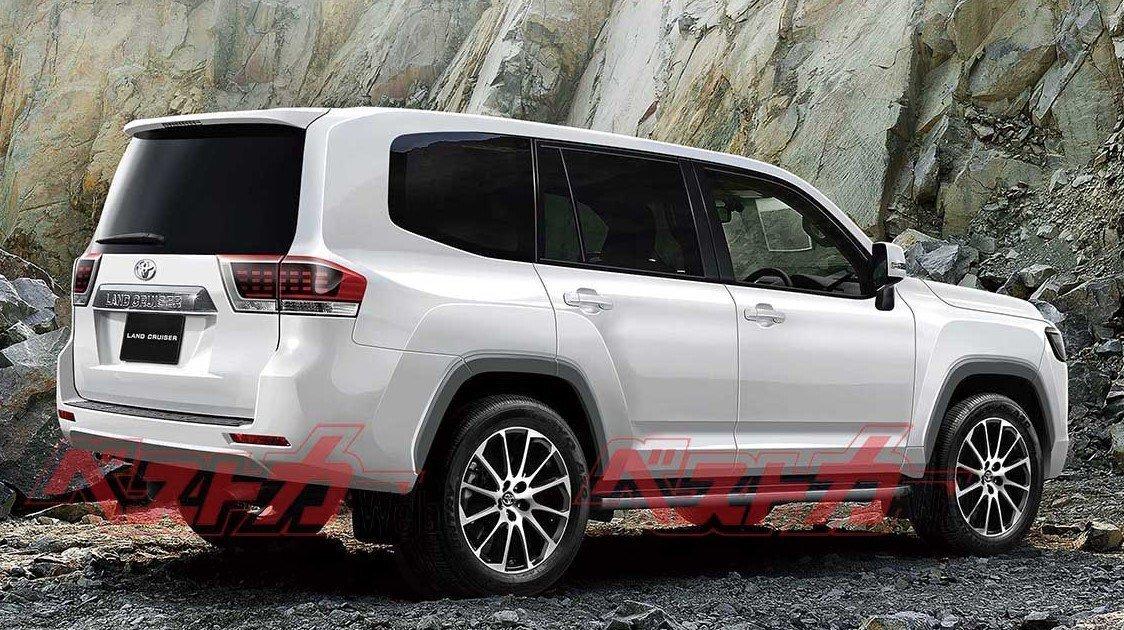 Toyota Land Cruiser 300: характеристики и фото 2