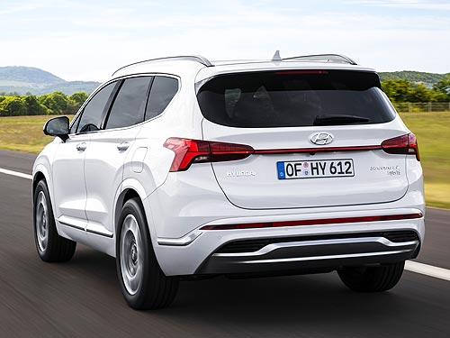 В Украине стартуют продажи обновленного Hyundai Santa Fe 3