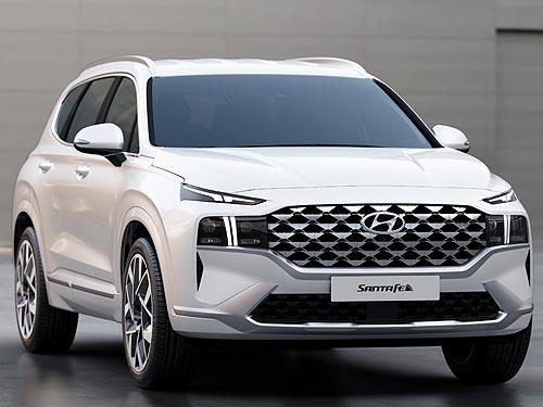 В Украине стартуют продажи обновленного Hyundai Santa Fe 1
