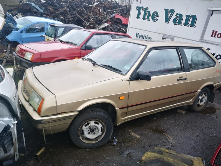 В Шотландии обнаружили свалку со множеством советских автомобилей ВАЗ 1
