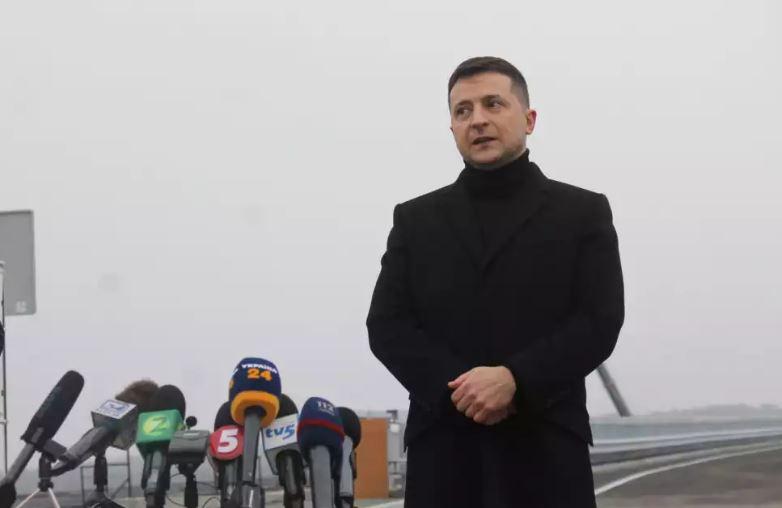 Владимир Зеленский открыл мост в Запорожье и сообщил, когда достроят второй 1