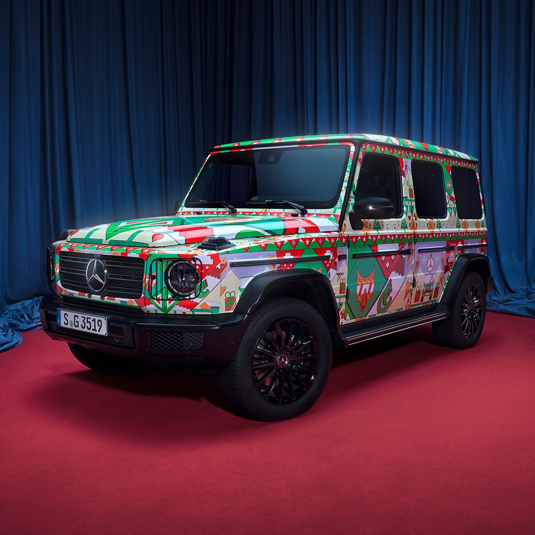 Компания Mercedes «одела» свои топовые модели в «уродливые свитера» 1