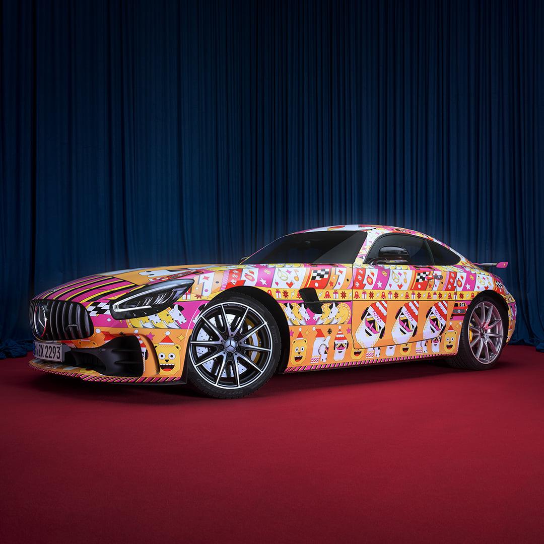 Компания Mercedes «одела» свои топовые модели в «уродливые свитера» 2
