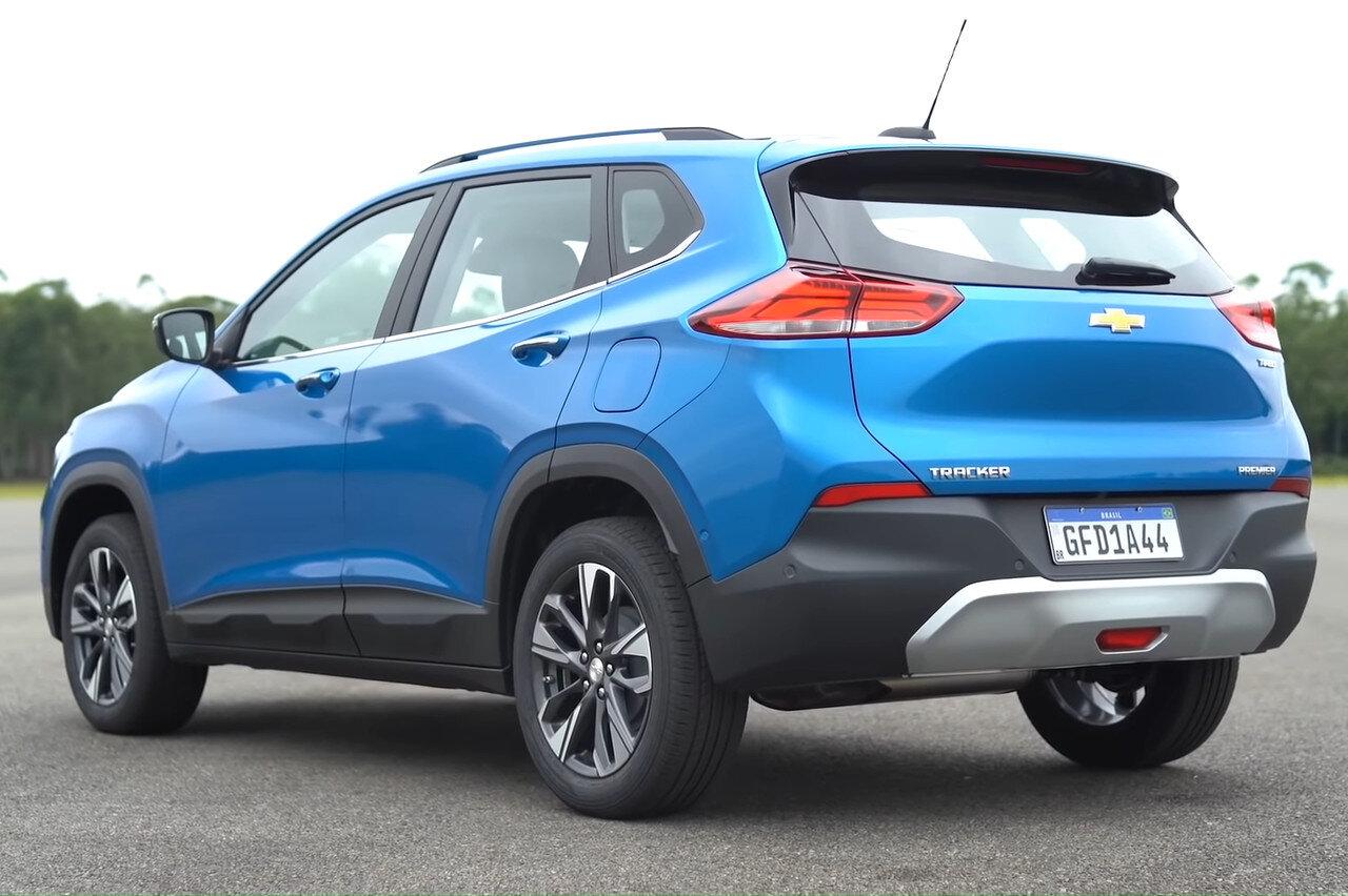 В Украине может появиться новый кроссовер -Chevrolet Tracker 2