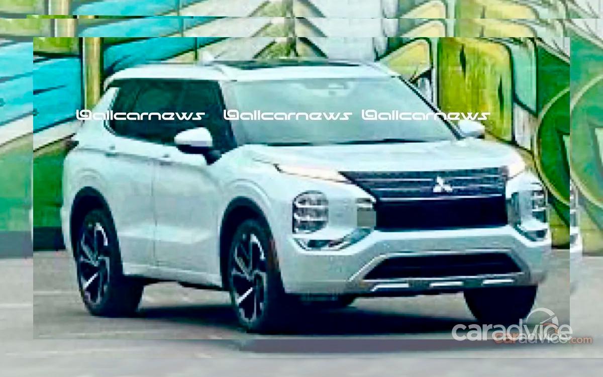Mitsubishi Outlande нового поколения показали на первых реальных фото 1