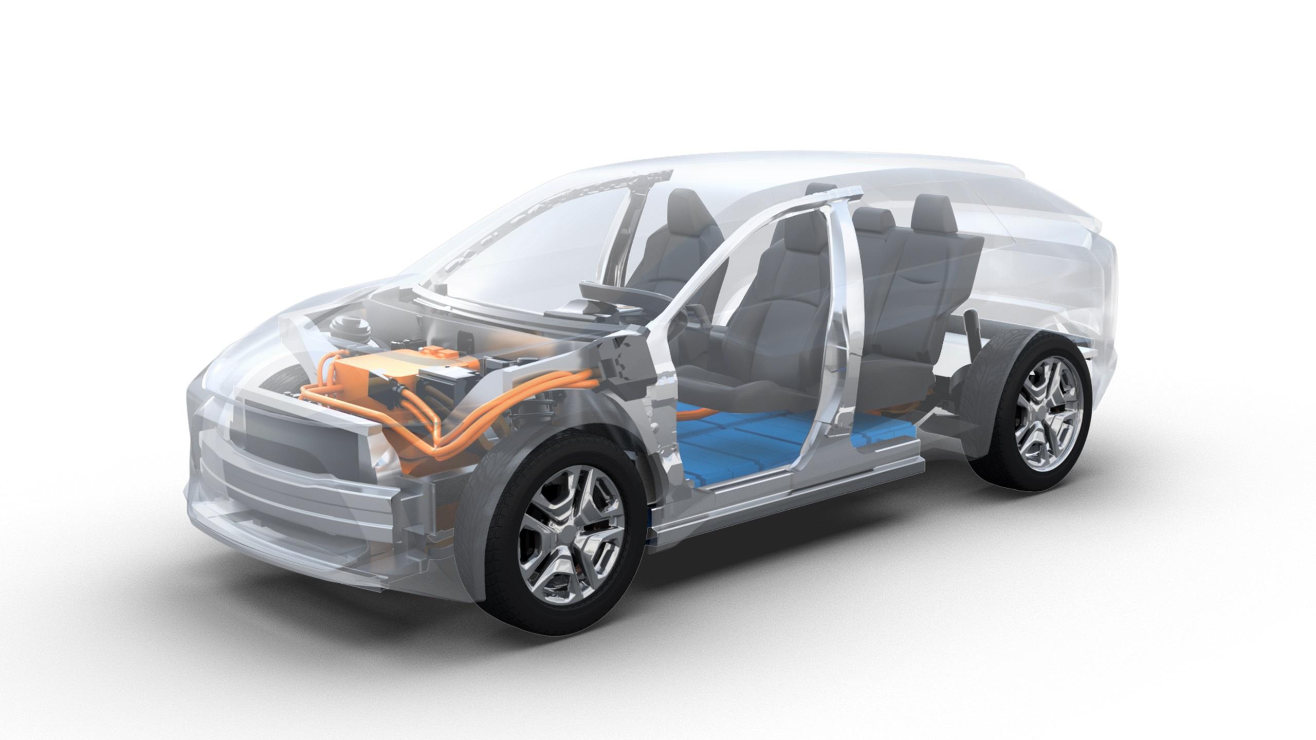 Subaru готовит первый серийный кроссовер 1
