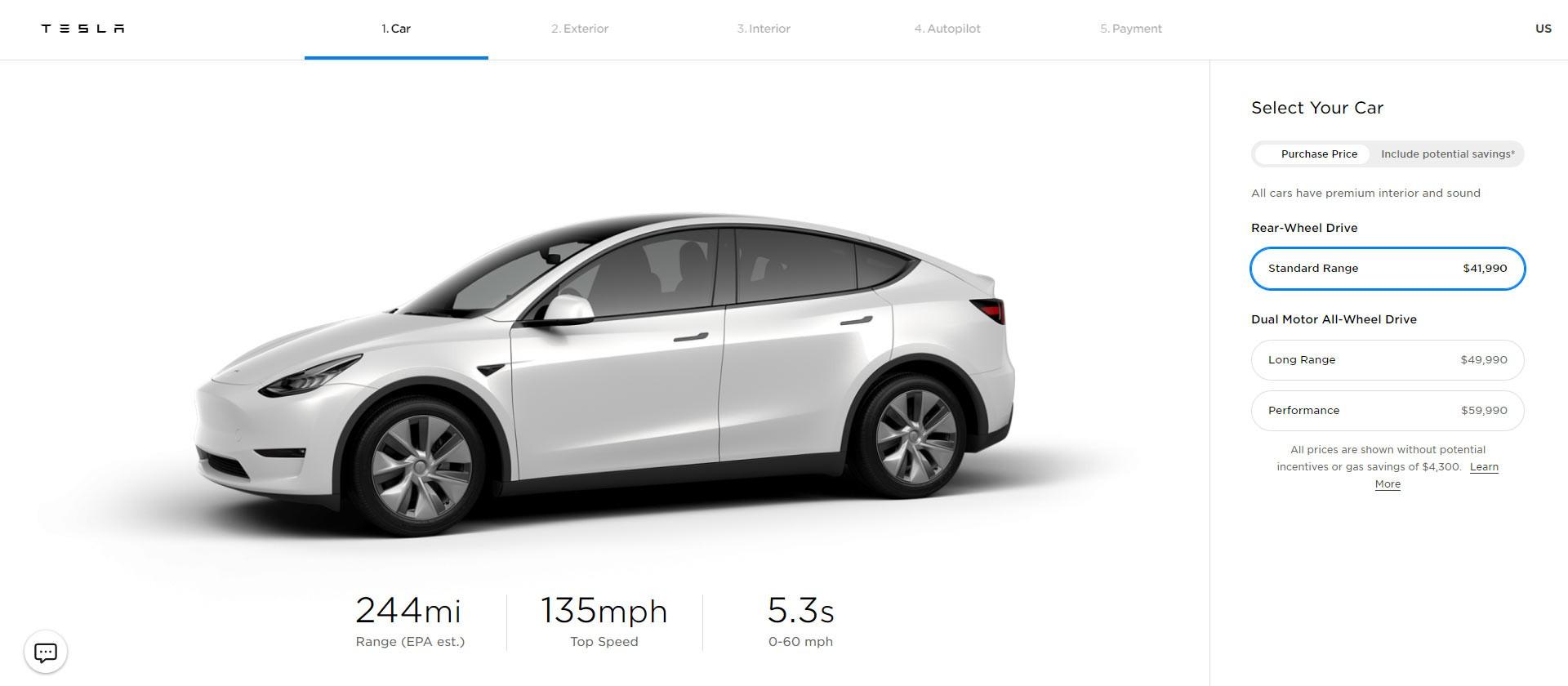 Teslaпредставила бюджетную версию Model Y 1