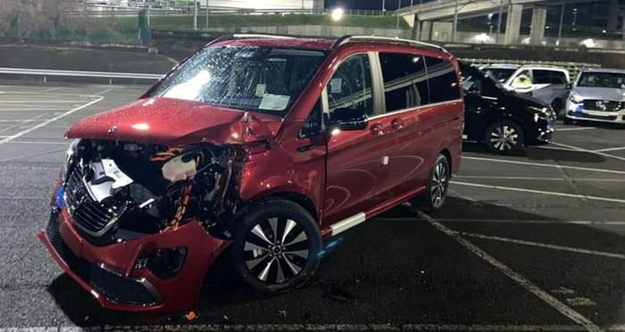 Уволенный работник завода Mercedes-Benz разбил 69 машин и нанес ущерб на миллионы евро 3